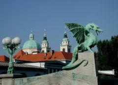 El dragon, simbolo de Ljubljana