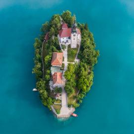 Viaje organizado a Eslovenia - el lago de Bled